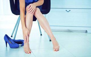 Основные причины отекания ног у женщин
