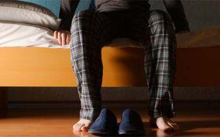 Причина появления отека ног у мужчин