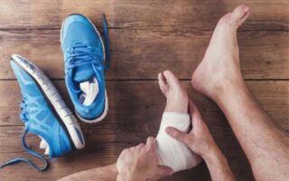 Что делать если подвернула ногу и опухла щиколотка
