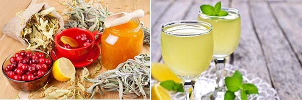 Сок лимона и клюквы от высокого давления