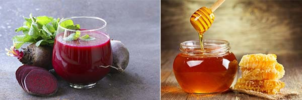 Сок из меда и свеклы