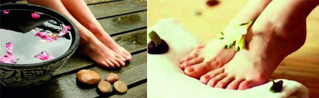 Ванночки для ног при отеках