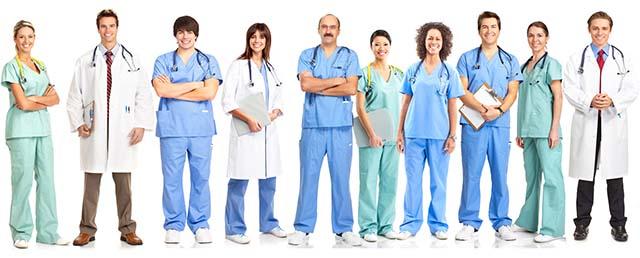 Множество врачей