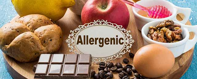 Аллергические продукты питания