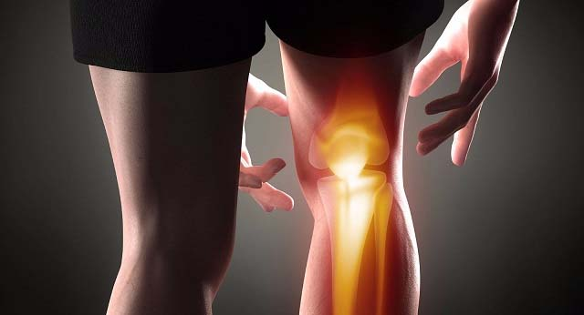 Просвечивание ноги до костей
