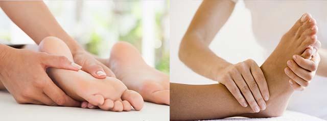 Лечебный массаж ступней