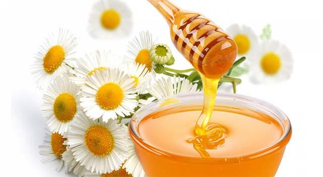 Компресс из меда и ромашки