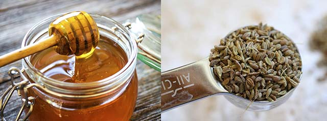 Мед и анисовые семена