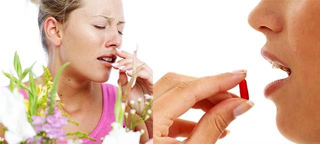 Аллергия на цветы и лекарства