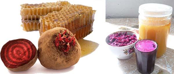 Примочки из меда и свеклы