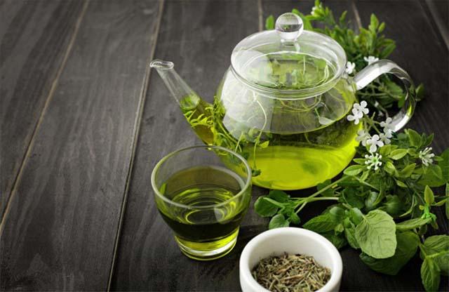 Заварник зеленого чая
