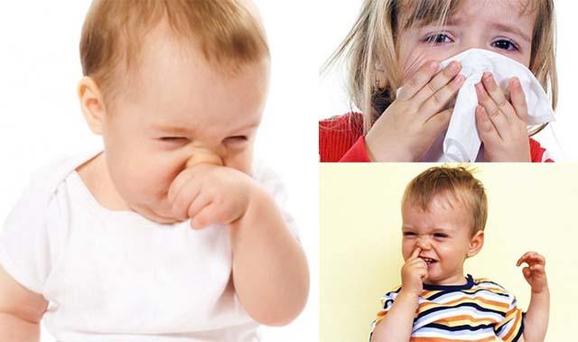 Отек слизистой носа у детей