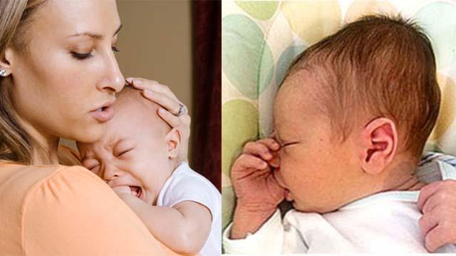 Новорожденный ребенок с гематомой