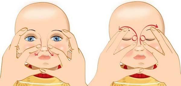 Массаж глаз для детей
