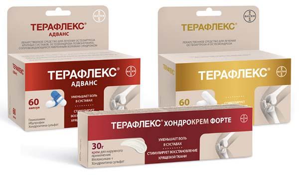 Терафлекс и Хондротин