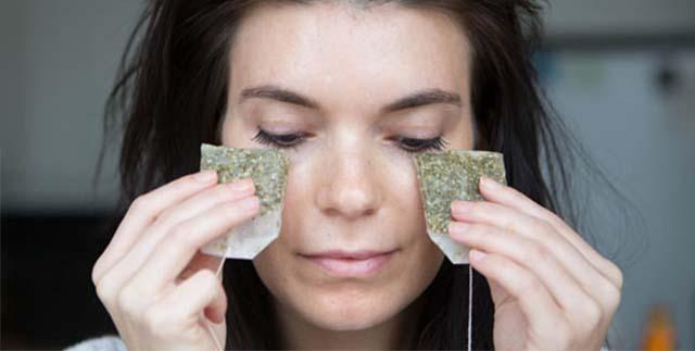 Компресс для лица из зеленого чая