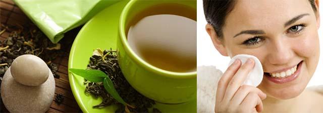 Зеленый чай для умывания