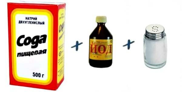 Содово-солевой раствор