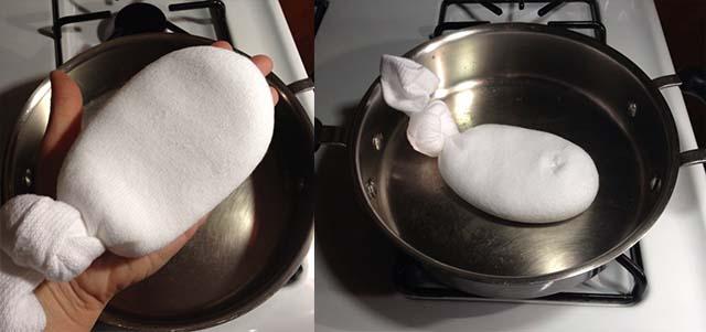 Прогревание морской солью