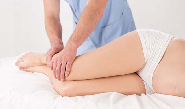 Массаж ног беременной