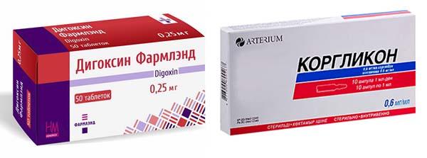 Дигоксин и Коргликон