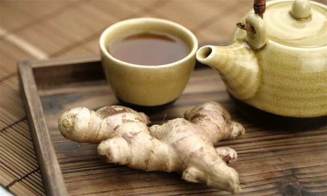 Чай из корня имбиря от отеков