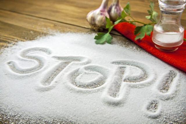 Соль вредна