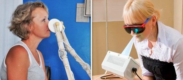 Физиотерапевтические процедуры: УФО и УВЧ